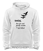 Толстовка Дивергент Divergent Ravens