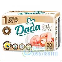 Подгузники Dada Little One Newborn От 2 До 5 Кг С Индикатором 28 Шт.