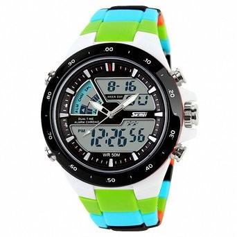 Чоловічі спортивні годинник Skmei Sport Dive (1016) кольорові