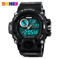 Спортивные часы  Skmei S-Shock черные