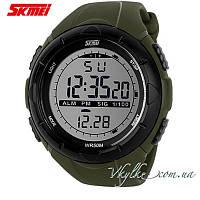 Спортивные часы  Skmei Military Dive (1025) зеленые