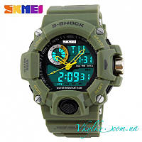 Спортивные часы  Skmei S-Shock зеленые