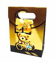 Подарочный пакетик мишка