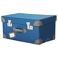 PYSSLINGAR Коробка для игрушек, синий