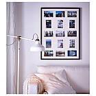 RIBBA Рама для 15 картин, черный, фото 2