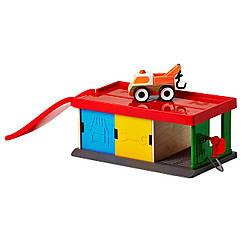 Гараж с эвакуатором IKEA LILLABO игрушечный 201.714.73