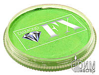 Аквагрим Diamond FX основной Зелёный мятный