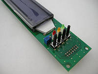 Двухстрочный символьный индикатор LCD2002 3-5V с подсветкой и кнопками (синий)