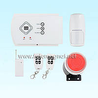 Готовый комплект GSM сигнализации PoliceCam G10A Base(охранная сигнализация gsm)