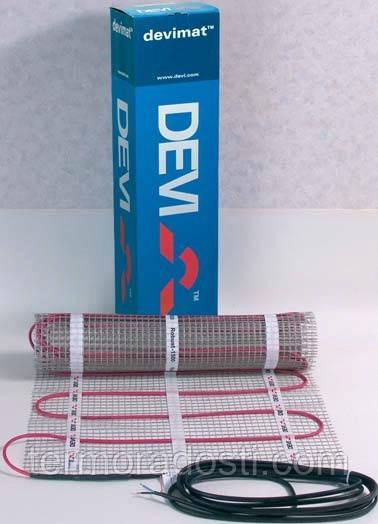 Нагревательный мат DEVImat 150T (0,5 м2/75Вт) DTIF-150 (140F0444) теплый пол