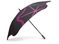 Противоштормовой зонт-трость мужской механический с большим куполом BLUNT (БЛАНТ) Bl-golf2-pink