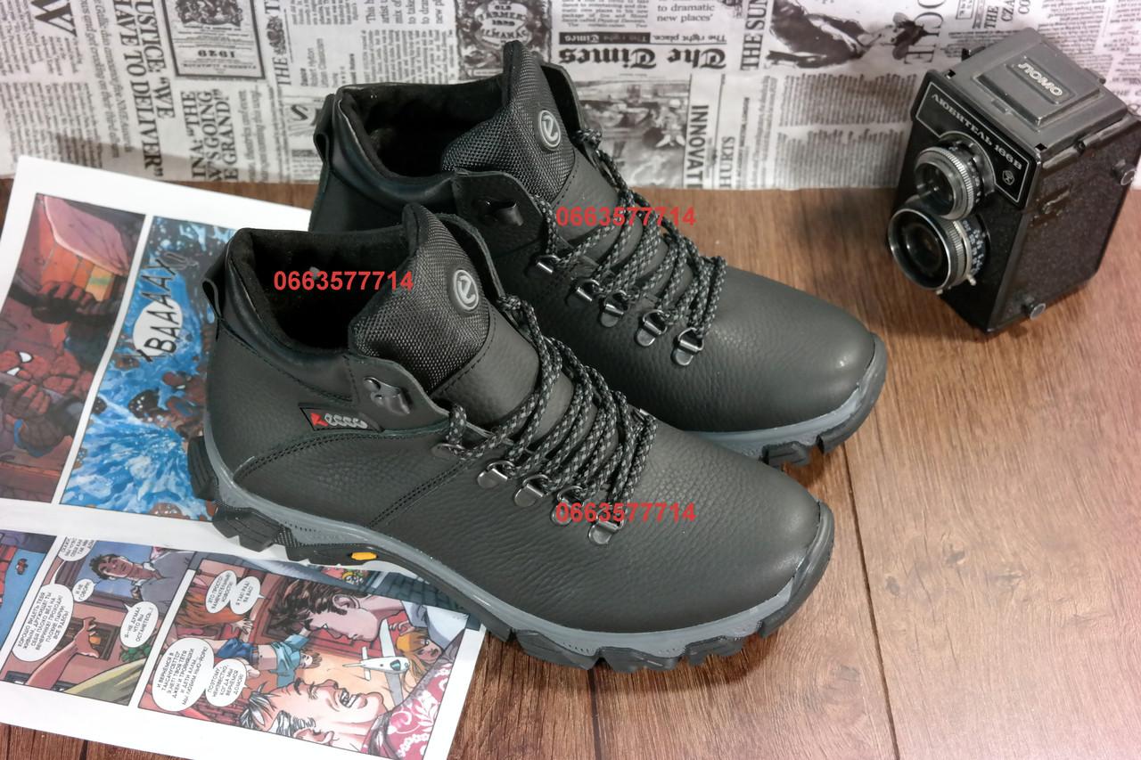 337365cd ... Мужские зимние ботинки ECCO , кожаная обувь, высокое качество  изготовления,, ...