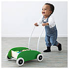 Детская игрушечная коляска IKEA MULA береза зеленая 302.835.78, фото 2