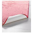 RARING Ковер с коротким ворсом, розовый, фото 2