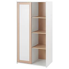 Гардероб IKEA SNIGLAR бук белый 402.637.87