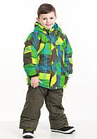 Зимний лыжный термокомбинезон премиум-качества PIDILIDI р.98-152 для мальчиков ассиметрия