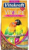 Корм Vitakraft 14156 Vita Life Special для неразлучников 650 г