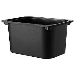 Контейнер IKEA TROFAST черный 102.525.73