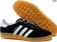 Кроссовки мужские черные Adidas Gazelle 2016 - 35Z