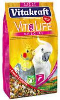 Корм Vitakraft 14154 Vita Life Special для австралийских попугаев 650 г