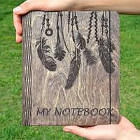 "Блокнот из дерева ""My Notebook"", А6"