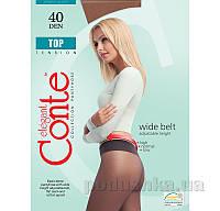 Колготки светло-коричневые женские 40 Den низкая талия Top Conte 8С-64СП Shade 4