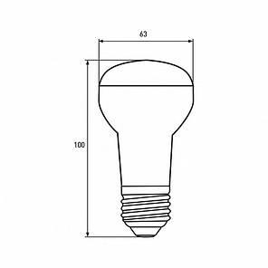 "EUROLAMP LED Лампа ЕКО серія ""D"" R63 9W E27 3000K, фото 2"