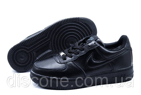 Зимние кроссовки Найк Air Max унисекс, на меху, черные р.40