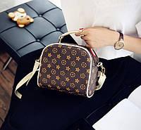 Компактная сумка-сундук LV