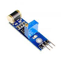 Модуль Датчик вибрации  на LM393 с регулировкой чувствительности