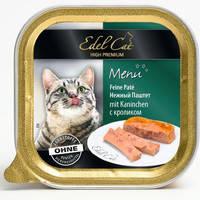 Паштет для кошек Edel Cat с кроликом 100 гр.