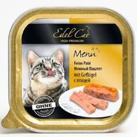 Паштет для кошек Edel Cat с птицей 100 гр.
