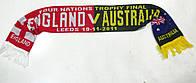 Шарф футбольный ENGLAND-AUSTRALIA 19-11-2011