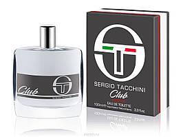 Sergio Tacchini  Club Intense 100ml  мужская оригинальная парфюмерия