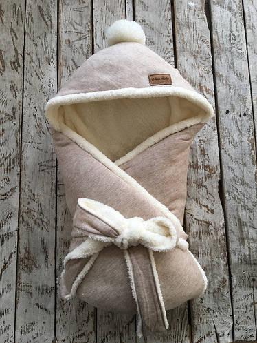 Зимний конверт-одеяло на выписку «Ангора», Magbaby
