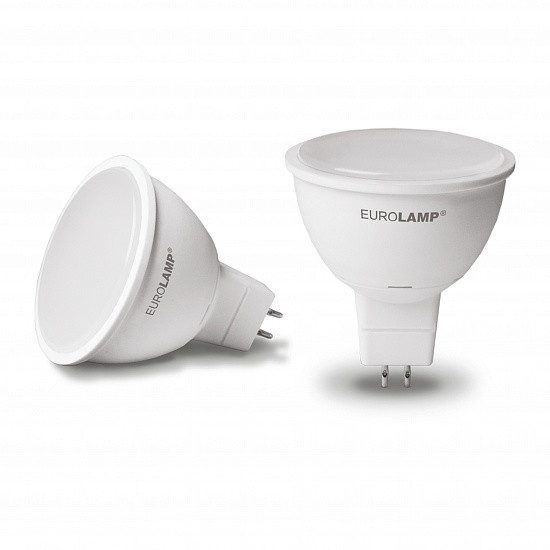 "EUROLAMP LED Лампа ЕКО серія ""Е"" dimmable MR16 5W GU5.3 4000K"