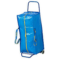 FRAKTA Тележка с сумкой, синий