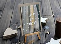 Листівка «Let it snow», фото 1
