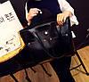 Большая вместительная сумка+клатч, набор, фото 5
