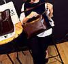 Большая вместительная сумка+клатч, набор, фото 6