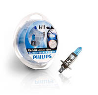 Philips Blue Vision Ultra 4000K / тип лампы H1 / комплект 2шт.