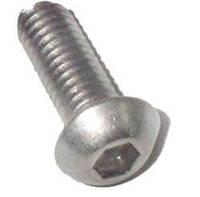 Винты с полукруглой головкой с шестигранным углублением под ключ нержавеющие ISO 7380