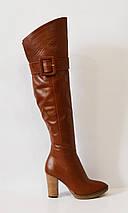 Женские рыжие сапоги Bravo Moda 858, фото 3