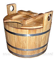 Запарник для веников дубовый 15 литров