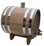 Дубовая бочка, жбан для напитков 30 литров
