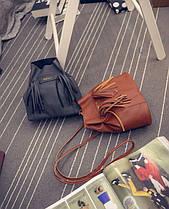 Компактная мини сумка мешок JinPinPJ, фото 2