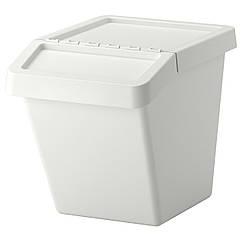 SORTERA Корзина для сегрегации отходов, белый 702.558.99