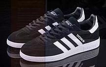 Кроссовки мужские Adidas s Spezial (black/white) - 01z кроссовки