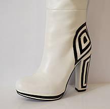 Женские белые сапоги Mallanee 938-136, фото 2