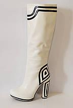 Женские белые сапоги Mallanee 938-136, фото 3